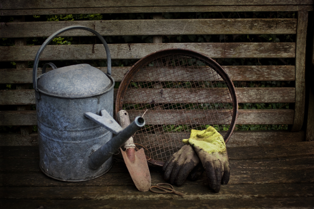 """Gardening Tools"" by Sarah Horrigan"