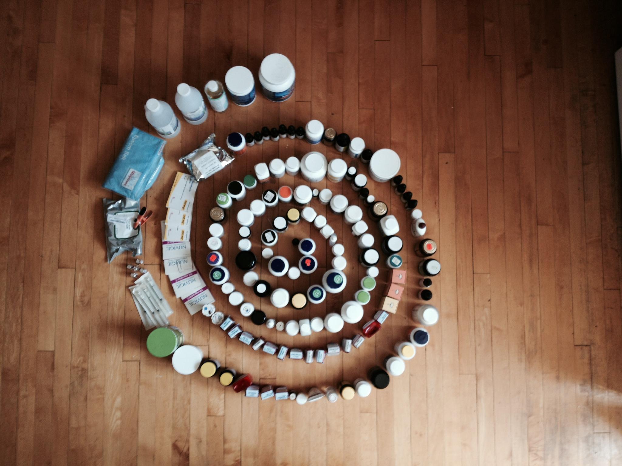 The Dizzying Spiral
